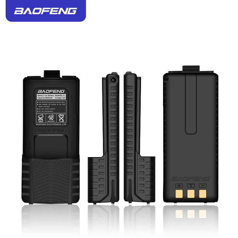 Image 2 - UV 5R Battery For Walkie talkie  High capacity Battery for  Baofenguv5r series 3800mAh-in Walkie Talkie from Cellphones & Telecommunications
