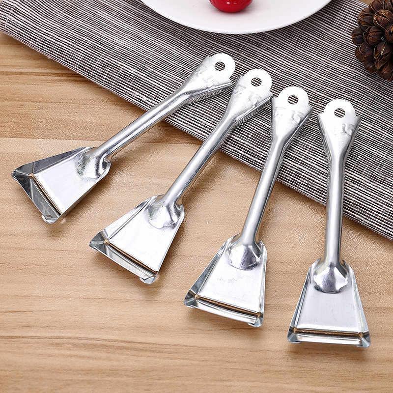 1 piezas de acero inoxidable de calidad fruta pelador cortador pequeño portátil hogar práctico cortador de manzanas herramientas de cocina