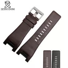 4104e547ac82 De alta calidad de banda de pulsera de cuero   32 18mm correa de reloj