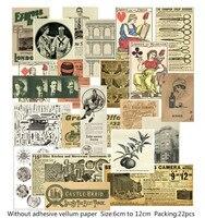 KLJUYP Винтаж серии материал бумага набор для Скрапбукинг DIY проектов/фотоальбом/карты для ручной работы B