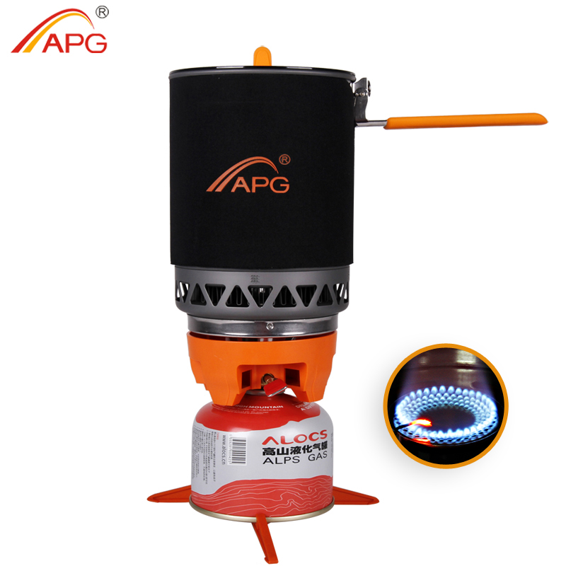 APG 1600ml Portable Camping gas stove cooking System Butane Propane BurnersAPG 1600ml Portable Camping gas stove cooking System Butane Propane Burners