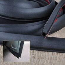 DWCX Auto Grote P Type Rubberen Afdichting Weer Strip Holle Deur Edge Moulding Trim voor VW Golf Mercedes Benz audi BMW Mazda Hyundai