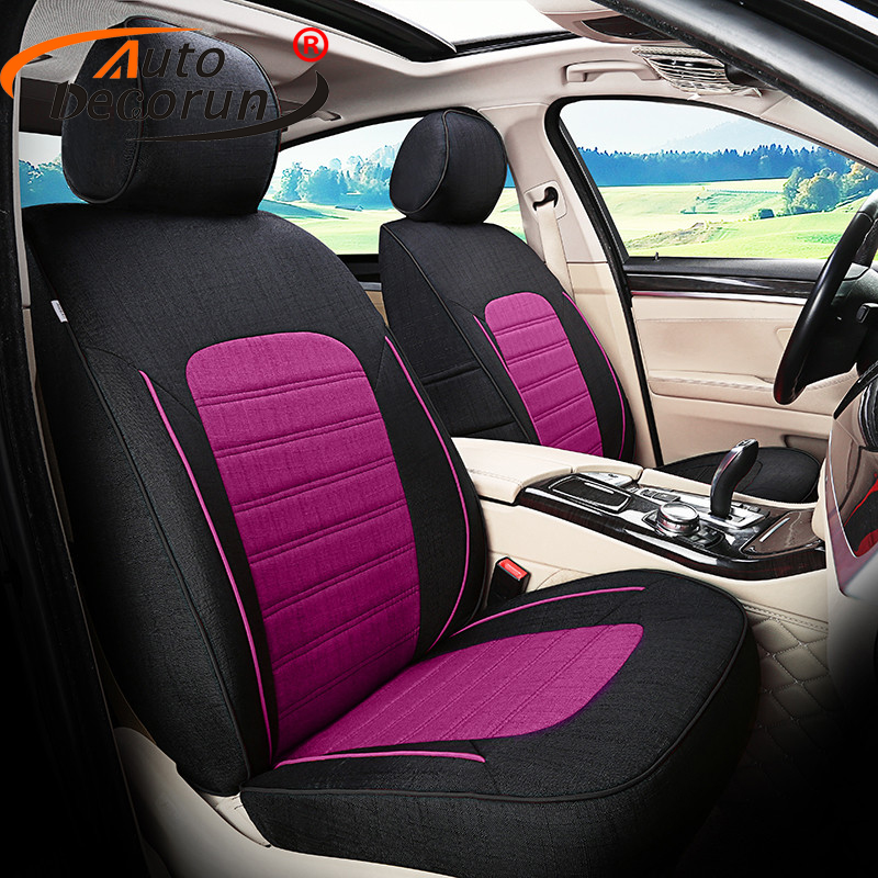 AutoDecorun Custom Fit Seat Cover Set For Dodge Avenger