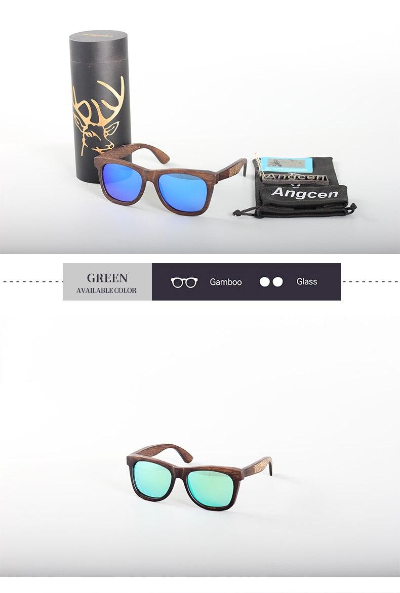 Angcen Unisex Polarized Sunglasses for Men Women 14