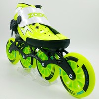 ZODOR original speed skating shoes Adult male and female children professional ice skates Straight line speed rollerblading