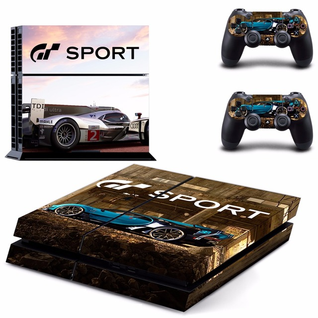Fin Gran Turismo Sport & GT Sport PS4 Skin Sticker Decal For Sony EP-01
