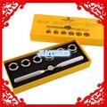 Herramienta de reloj de Ostras Estilo Impermeable Reloj Tornillo Detrás Encajona #5537