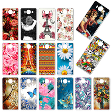 TaryTan Soft TPU Case For Nokia Lumia 950 Case Silicone For Microsoft Nokia N950 Protective Shell DIY Painted Phone Back Cover stylish protective plastic back case for nokia lumia 1020 white