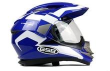 Free shipping Gsb professional racing helmet motorcycle helmet gsb off-road helmet xp-14