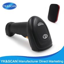 Storage Wireless/wired 1D Laser Barcode Scanner YK-W930 2.4G Wireless laser Bar code reader free shipping