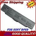 JIGU Laptop Battery For Sony Vaio VGN NR VGN AR VGN CR VGP BPS9A B VGP BPS10 VGP BPS9 Silver 4400MAH 10.8V