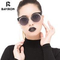 BAVIRON New Cat Eye Eyebrow Design Sunglasses For Women Anti Reflection Sun Glasses Polarized Lenses UV400