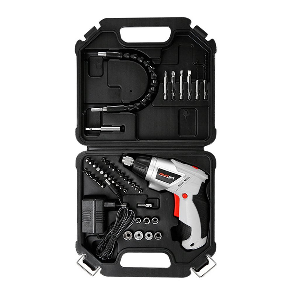 New 4.8V Electric Screwdriver Set Multifunctional Lithium Battery Rechargeable Household Electric Drill Rotary Hammer Drill new rechargeable lithium battery operated 10w rechargeable emergency light