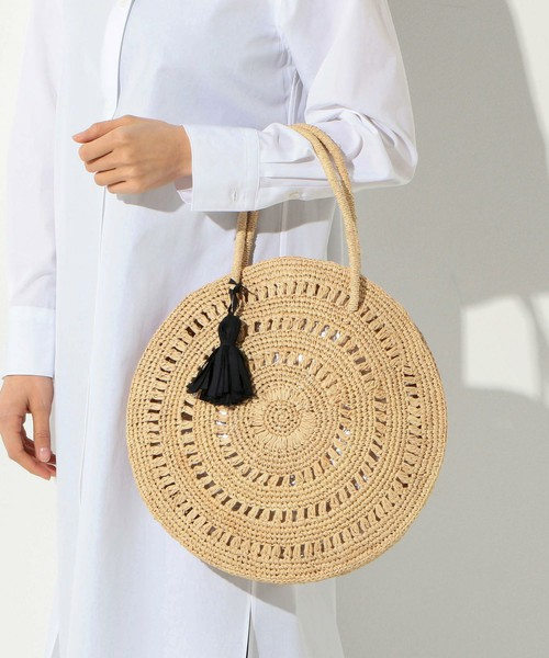 2018 Moroccan Palm Basket Bag Women Hand Woven Round Straw Bags Natural Oval Beach Bag Big