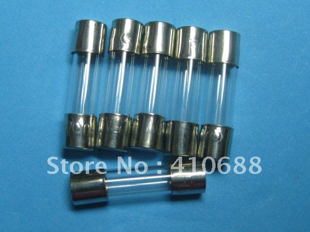 100 Pcs Per Lot Slow Blow Glass Fuse 2A T2A 250V 5mm x 20mm Hot Sale