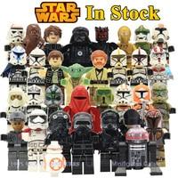 Star Wars Action Figures The Force Awakens Clone Storm Trooper Yoda Darth Vader Building Blocks Brick