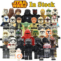 Star Wars Action Figures The Force Awakens Clone Storm Trooper Yoda Darth Vader Building Blocks Brick