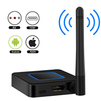 1080P AV Wireless HDMI Mirroring Adapter Dongle Screen AirPlay chromecast Miracast tv stick Display Linux 2.4G 5.8G Mirascreen