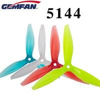 10 pares Gemfan 5144 5 pulgadas tri blade/3 hélice de la hoja Compatible 2205 2306 Motor sin escobillas para los apoyos del Dron FPV RC|Partes y accesorios| |  -