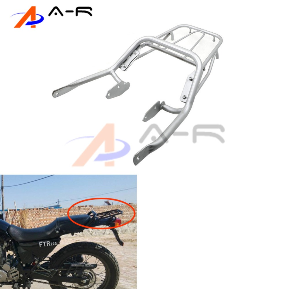 Rear Detachable Luggage Rack Support Holder Saddlebag Cargo Shelf Bracket For Honda FTR Retro FTR223 FTR 223