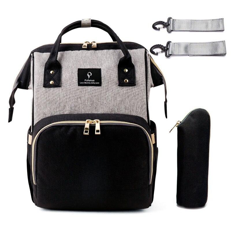 2019 USB интерфейс Мумия сумка рюкзак большой емкости непромокаемая детская пеленка Сумка для беременных сумка для переноски Bolsa Luiertas сумка дл