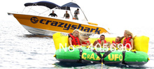 New design Inflatable Water Crazy UFO Inflatable Towable Tube