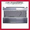 Ru teclado del ordenador portátil para samsung rf510 rf511 teclado con tapa c case palmrest touchpad superior nuevo
