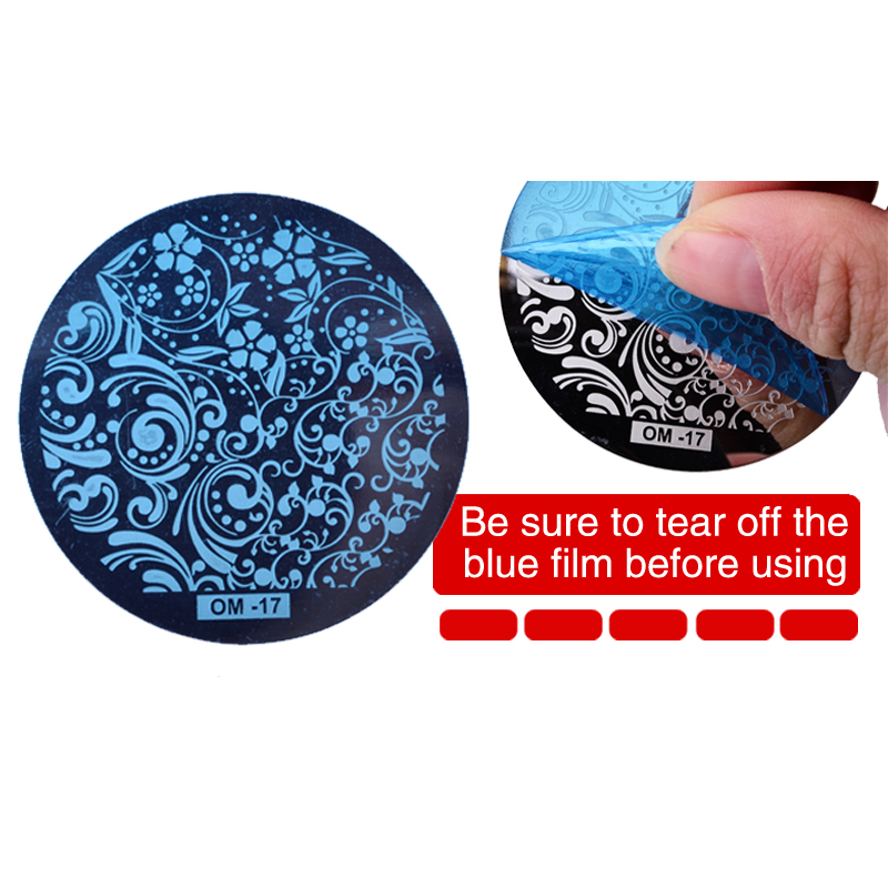 100pcs New Fashion Nail Art Template DIY Nail Image Plates Polish Design Printing Stamp Stamping Stencil Mould Manicure Tools-in Nail Art Templates from Beauty & Health    2