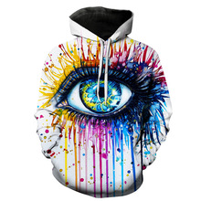 Men Women Sports Breathable Digital Printing Sweater Hoodies Trainning Exercise Sweaters Loose cap Printing Large Size 6XL
