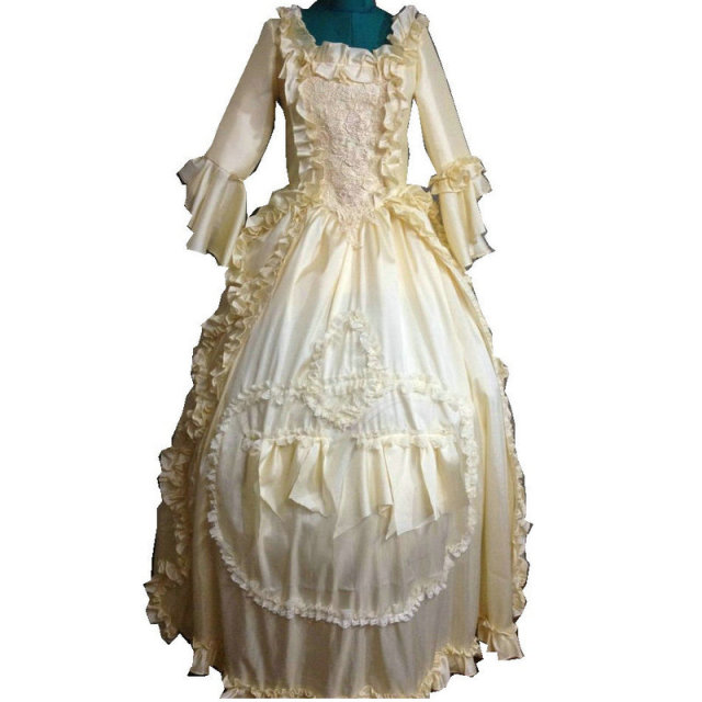 On sale D-110 Victorian Gothic Civil War Southern Belle Ball Gown Dress  Halloween Theater Edwardian dresses Sz US 6-26 XS-6XL 401ea14f4d1d