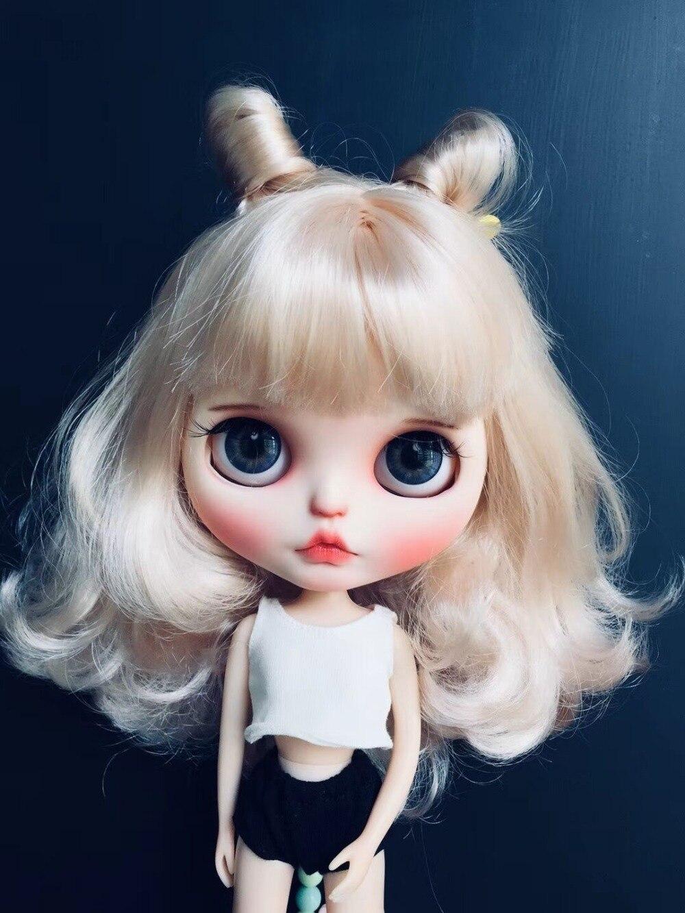 Muñeca de personalización DIY Nude blyth doll para niñas muñeca desnuda 20193 (no incluye ropa)-in Muñecas from Juguetes y pasatiempos    1