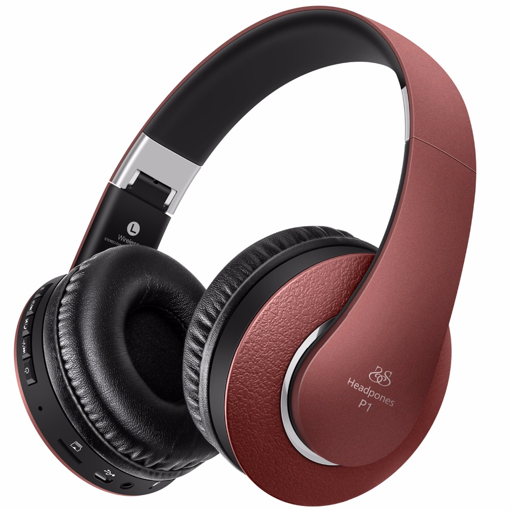 iphone headphones wireless sound intone p1 bluetooth headphone with mic support tf 11919