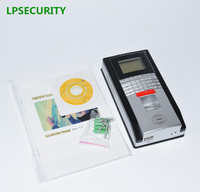 LPSECURITY TCP/IP RJ45 Standalone rfid fingerprint access control reader system & Time Attendance Machine