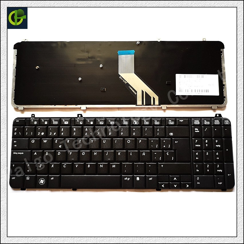 Spanish Keyboard for HP Pavilion DV6 DV6T DV6-1000 DV6-1200 DV6T-1100 DV6T-1300 DV6-2000 SP fit Latin LA laptop keyboard us laptop keyboard for hp pavilion dv6 dv6t dv6 6000 dv6 6100 dv6 6200 dv6 6b00 dv6 6c00 black english nsk hwous or 665937 251