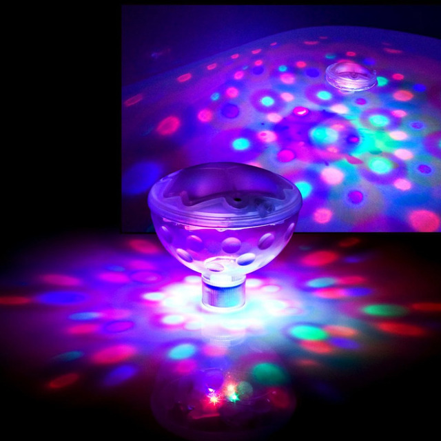 wasserdichte unterwasserbeleuchtung brunnen licht pool lichter fischteich aquarium led licht lampe fr kinder dusche geschenke spielzeug - Lampe Dusche Wasserdicht