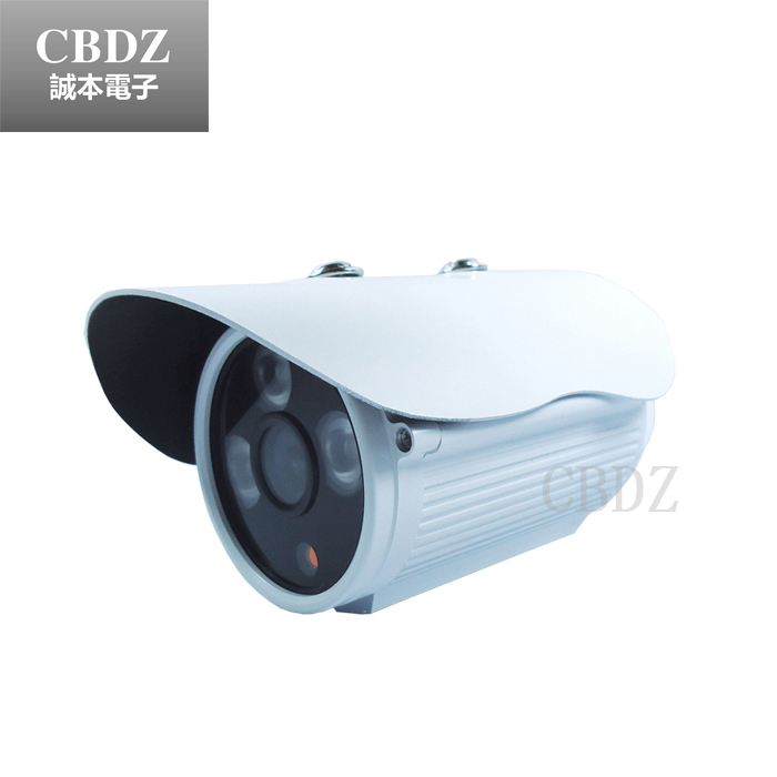 купить 1/3 CMOS sensor 600TVL CCTV camera with IR-CUT ,3 led arrays IR 40 meters,security camera Indoor/Outdoor free shipping онлайн
