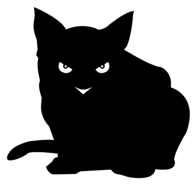 Y Cat Cat Decal Vinyl Sticker For Car Suv Truck Windowper Laptop Wall Decals Stickers