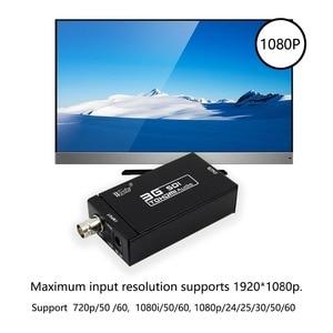Image 2 - WIISTAR SDI to HDMI Converter Mini 3G SDI HDMI Adapter   Full HD 1080P SDI to HDTV Audio Converter   Supports HD SDI and 3G SDI