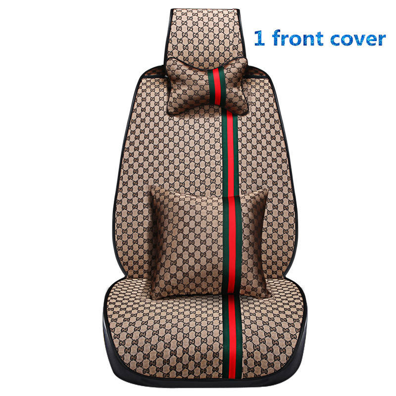 New Customization Car Seat Cover General Cushion Car pad Car Styling For Honda Accord Civic CRV Crosstour Fit City HRV Veze for honda civic accord crv xrv fit brand black luxury soft leather car seat cover front and rear complete set cover for car seat