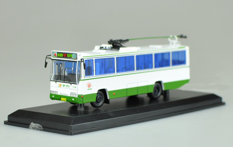 Limit 1:76 Guangzhou SK5105GP bus Tramcar model Alloy collection model Holiday gift shanghai guangzhou 12 300mm