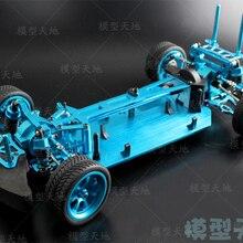 1/10 RC 4WD модель игрушки автомобиль на дороге Дрифт автомобиль металлический пустой каркас бесщеточная версия Неограниченное HSP 94123 летающая рыба