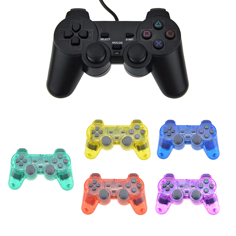 For PS2 Wired Controller Shock Remote For PS2 Game Console Controle For Sony PS2 Wired Joypad Gamepad for Kids GiftFor PS2 Wired Controller Shock Remote For PS2 Game Console Controle For Sony PS2 Wired Joypad Gamepad for Kids Gift