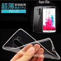 Ultra Thin Crystal Clear Transparente TPU de Silicona Suave Cubierta de la Caja para lg google nexus 5 para moto g4 g4 plus nexus 6 vivienda