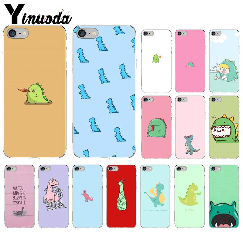 Yinuoda Cute Dinosaur DIY Painted Beautiful Phone