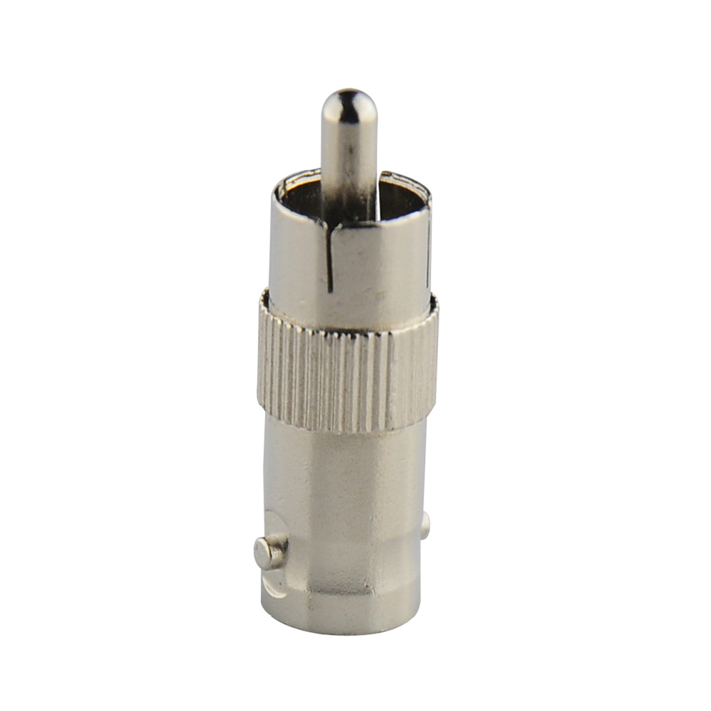 RCA Male to BNC Female Jack Connector Adapter Coupler Plug for CCTV Camera