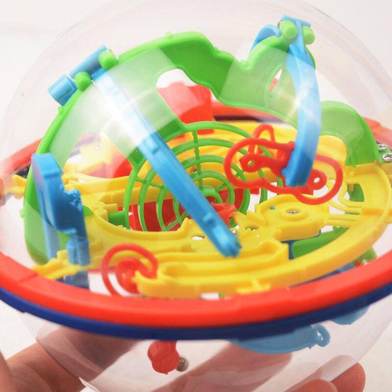 3D Magic Maze Ball 100 Levels Intellect Ball Rolling Ball Puzzle Game Brain Teaser boy girl