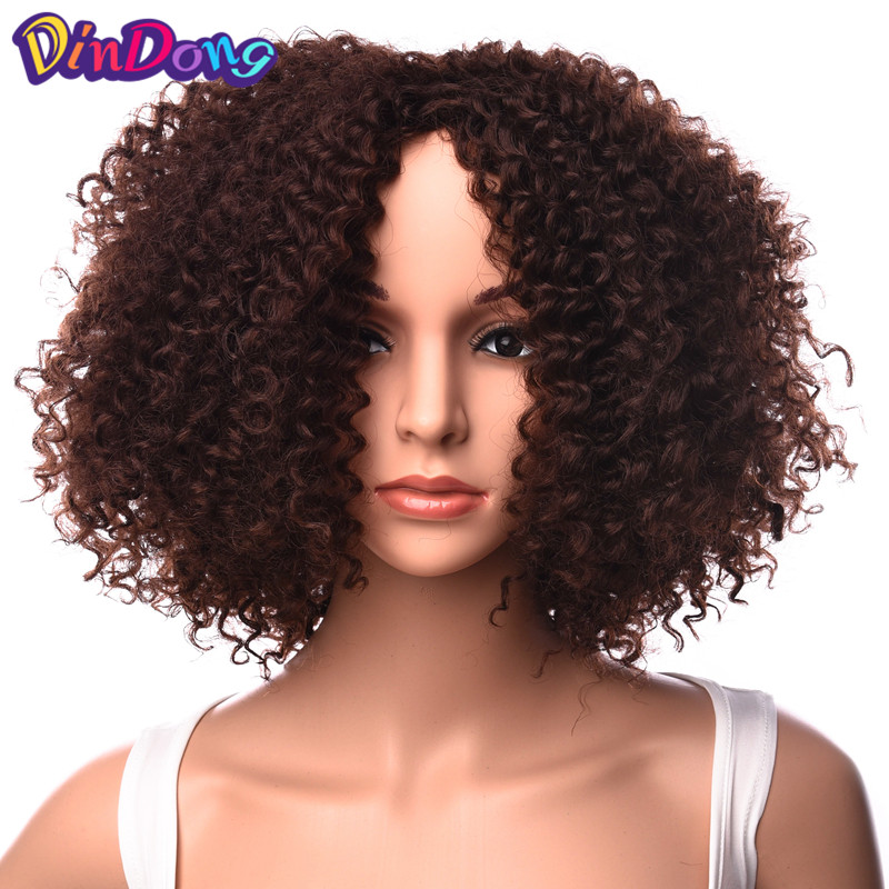 Lego Mixed FEMALE Version cheveux x 4 brun foncé dame perruques