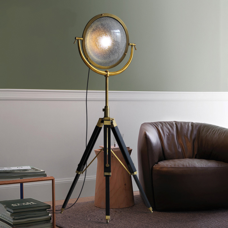 American Creative Industrial Wind three feet floor lamps ...