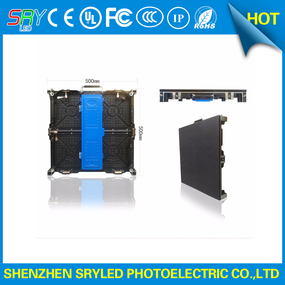 500mm x 500mm high refresh rate P3 91 indoor rental led screen display for stage background