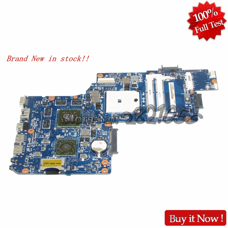 цена NOKOTION Brand New Laptop motherboard H000052650 For Toshiba Satellite L855D C855D C850D STOCKET FS1 Mainboard DDR3
